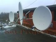 Спутниковое телевидение (ТВ антенны). Установка,  настройка. ремонт