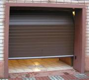 Автоматические секционные гаражные ворота