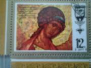 Продам почтовую марку Архангел Михаил