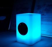 Светодиодная Bluetooth колонка Куб.