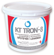 Сверхбыстротвердеющая цементная смесь КТтрон-8 для устранения активных протечек