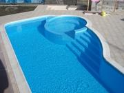 продам пластиковый бассейн с установкой