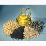 Масла растительные пищевые на экспорт.