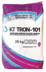 КТтрон–101 клей для плитки эластичный гидроизоляционный с повышенной в