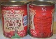 Тушёнка Белорусская