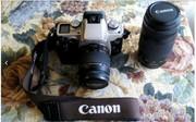 Фотоаппарат Canon eos 50E с объективами Canon