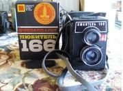 фотоаппарат Любитель 166 LOMO 1979 года выпуска