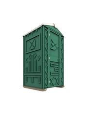 Новая туалетная кабина Ecostyle - экономьте деньги!