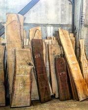 СЛЭБЫ различных пород древесины