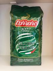 Кофе зерновой Италия Carraro Globo Verde 50/50 опт и розн