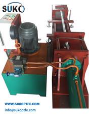Оборудование для помещения железного вала в PTFE/UHMWPE заготовку