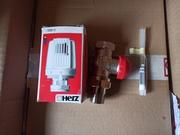 Кклапан и головка термостатическийе отопления HERZ-TS-90-V DG Австрия