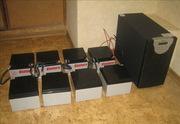 Немецкие аккумуляторы 10 opzs1000 hoppecke