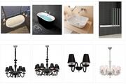 Керамикстудио - интернет магазин сантехники,  плитки и света в Москве